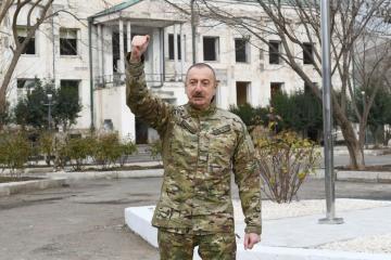Ильхам Алиев: Губадлинская операция требовала особого профессионализма и самоотверженности