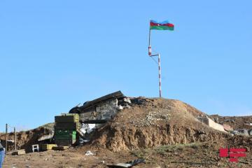 Armenian command point in Fuzuli, mined territory with length of 2 km, finding monument to Fuzuli  - [color=red]REPORTAJE[/color] - [color=red]PHOTO[/color]