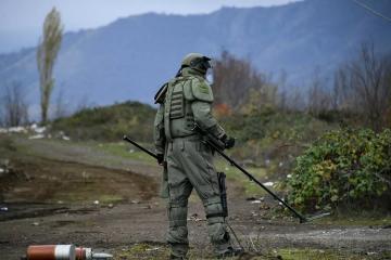 Rusiya FHN: İndiyədək Qarabağda 10 mindən çox sursat aşkar olunub