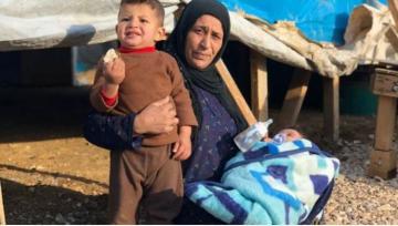 На севере Ливана произошел пожар в лагере сирийских беженцев