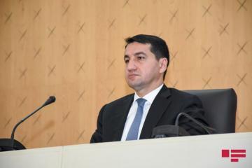 Хикмет Гаджиев: Армения должна ответить за совершенные ею культурный геноцид и террор на азербайджанских землях