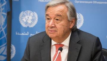 Генсек ООН в новогоднем обращении призвал сделать 2021 год «годом исцеления»