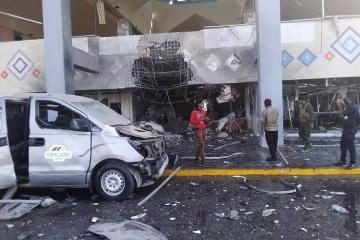 Yəmən hava limanına hücum zamanı BQXK-nın üç əməkdaşı ölüb