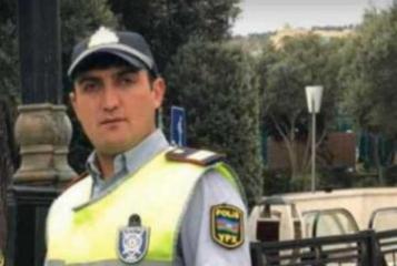 Скончался водитель-полицейский врезавшегося в дерево мотоцикла в Баку  - [color=red]ВИДЕО[/color]