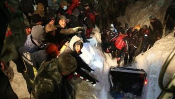 At least 5 killed in avalanche in eastern Turkey