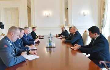 Azerbaijani President receives delegation led by Commander of NATO Allied Forces in Europe