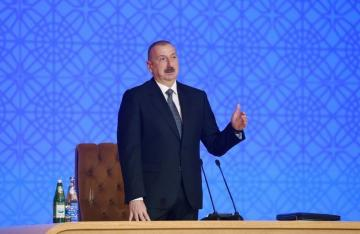 """President Ilham Aliyev: """"Main goal of our economy is to strengthen the state, ensure a better life for our people and create stability"""""""
