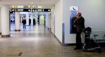 Copenhagen airport terminal cordoned off due to coronavirus suspicions