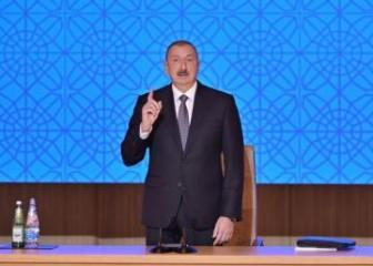 """Azerbaijani President: """"It is absolutely disgraceful to embezzle the money intended for job creation for the poor"""""""