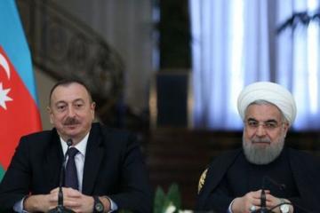 Azerbaijani President congratulates Iranian counterpart