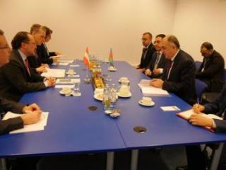 Azerbaijani FM meets with Federal Minister of European and International Affairs of Austria
