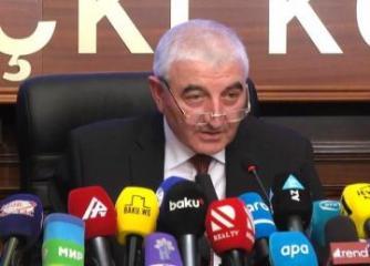 Глава ЦИК: Ни у кого нет полномочий бросать тень ожиданиям азербайджанского народа