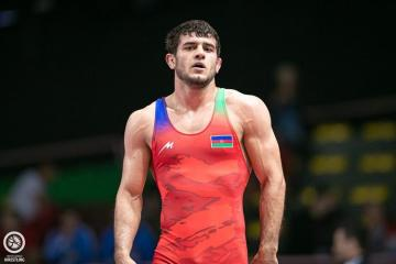 Azerbaijani wrestler, who defeated two Armenians, becomes European champion