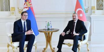 Serbian President congratulates Azerbaijani President Ilham Aliyev