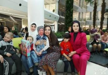Лейла Алиева встретилась с детьми, страдающими от ихтиоза, болезни бабочки и иммунодефицита - [color=red]ФОТО[/color]