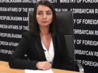 "Leyla Abdullayeva: ""This statement reveals the true intentions of the leadership of Armenia"""