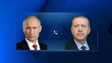 Putin, Erdogan discuss Idlib, Syria over phone