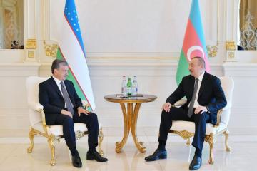 Uzbek President congratulates Azerbaijani President Ilham Aliyev