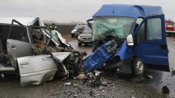 В России в ДТП погибли 8 граждан Украины