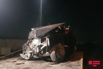 В результате ДТП в Баку пострадали 5 человек