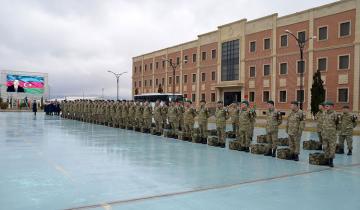 Group of Azerbaijani peacekeepers return from Afghanistan