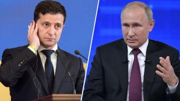 Volodymyr Zelensky had a phone conversation with Vladimir Putin