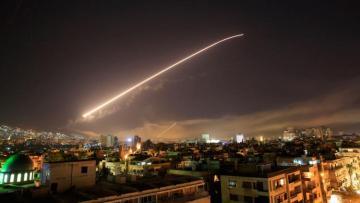 Дамаск подвергся ракетному удару