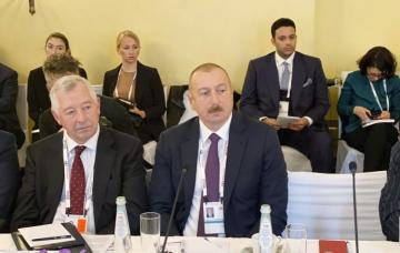 Prezident İlham Əliyev Münhen Təhlükəsizlik Konfransı çərçivəsində keçirilən dəyirmi masada iştirak edib - [color=red]YENİLƏNİB[/color]