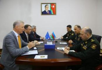Deputy Minister of Defense of Azerbaijan meets with the EU Special Representative