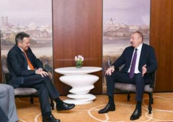 President Ilham Aliyev and ICRC President discuss issue of Dilgam Asgarov and Shahbaz Guliyev