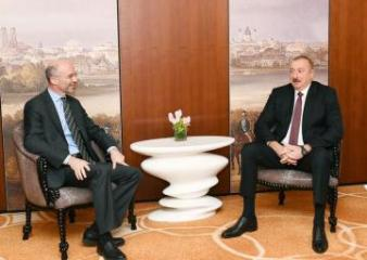 Azerbaijani President met with President of International Crisis Group