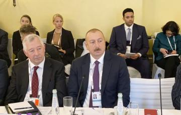 Ильхам Алиев: В наших планах – обеспечить до 2030 года 30% электроэнергии за счет возобновляемой энергии