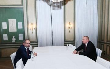 В Мюнхене состоялась встреча президента Ильхама Алиева с премьер-министром Армении