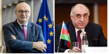 Azerbaijani FM met with the European Commissioner for Trade Phil Hogan in Brussels