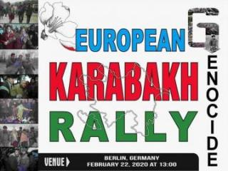 All-European Karabakh rally to be held in Berlin - [color=red]VIDEO[/color]