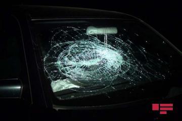 Bakıda avtomobilin vurduğu piyada xəsarət alıb