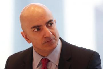Fed's Kashkari sees Fed on hold for three-six months, flags coronavirus risk