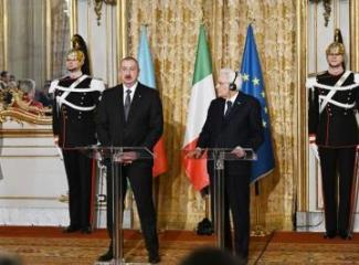 Azerbaijani, Italian presidents made press statements - [color=red]UPDATED[/color]