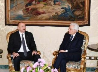 Azerbaijani, Italian presidents held one-on-one meeting