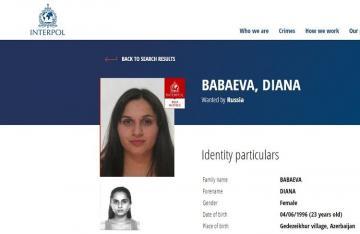 Rusiya terrorçulara qoşulan azərbaycanlı qadını beynəlxalq axtarışa verib
