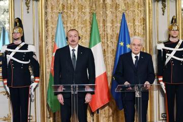 Серджо Маттарелла: Италия считает Азербайджан основным партнером и по Евроатлантическому партнерству