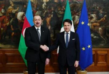 President Ilham Aliyev meets with Chairman of the Council of Ministers of Italy Giuseppe Conte - [color=red]UPDATED[/color]