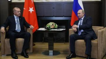 Erdoğan, Putin reiterate commitment to all agreements on Syria's Idlib