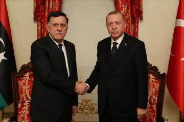 Эрдоган провел в Стамбуле переговоры с главой ПНС Ливии