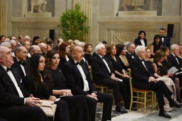 Concert program held on the occasion of opening of the Year of Azerbaijani Culture in Italy