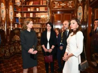 First lady Mehriban Aliyeva viewed Quirinale Palace in Rome - [color=red]UPDATED[/color]