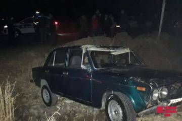 В Товузе перевернулся «ВАЗ», водитель тяжело ранен - [color=red]ФОТО[/color]