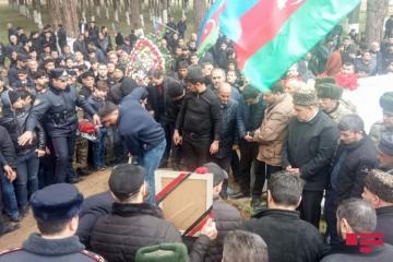 Похоронен военнослужащий, тело которого было найдено на азербайджано-армянской границе
