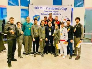Азербайджанские таэквондисты завоевали 9 медалей в Швеции – [color=red]ФОТО[/color]