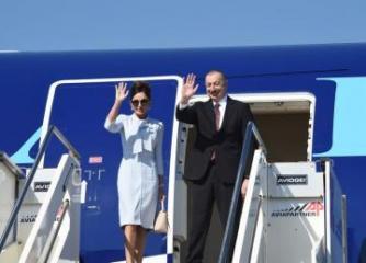 Государственный визит президента Ильхама Алиева в Италию завершился